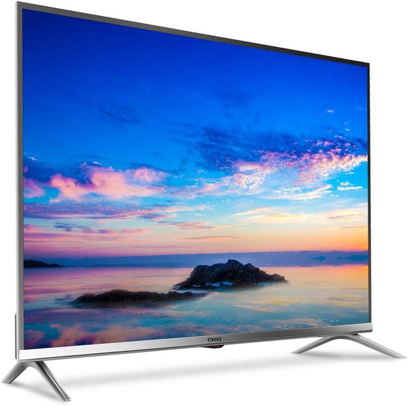 CHiQ L32D5T 32 pulgadas (80cm) Full HD LED TV, Triple Sintonizador DVB-T2/T/C/S2/S2/S2/S, CI+, HDMI, Reproductor multimedia vía USB, Clase de energía A+, Gris metal.: Amazon.es: Electrónica
