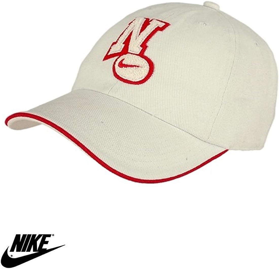 Nike parche Gorra de béisbol rojo Natural juventud Junior niños ...