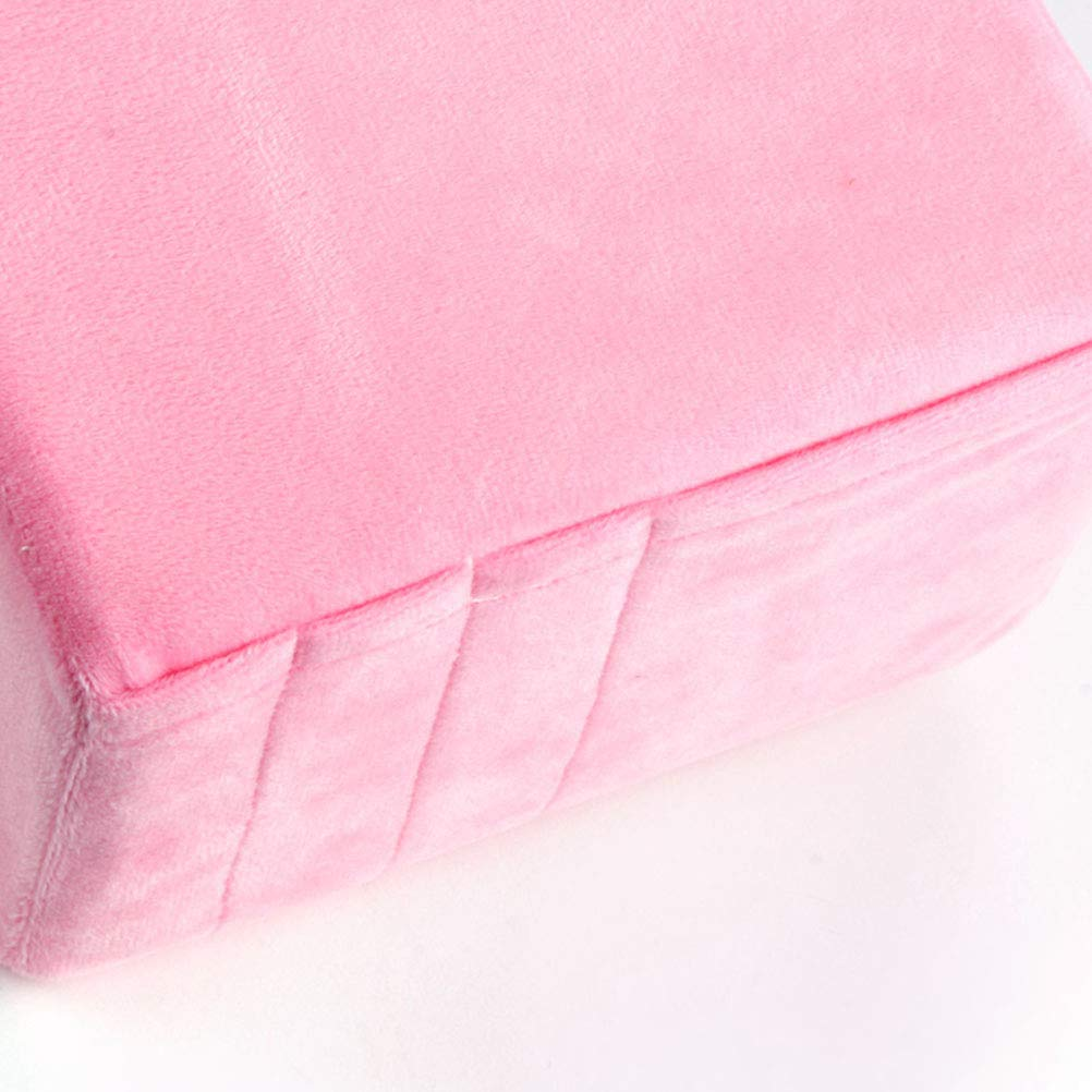 HEALLILY Healifty Eyelash Extension Cushion Pillow Orthopedic Memory Pillow for or Salon Home Use Tool Pink