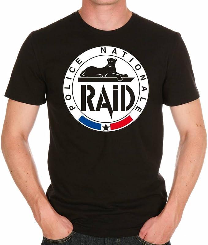 uraeus T-Shirt Raid Police