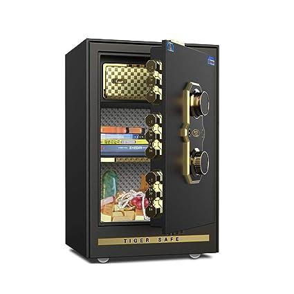 Cajas fuertes Caja fuerte de la casa de la maquinaria segura caja de contraseña pequeña y