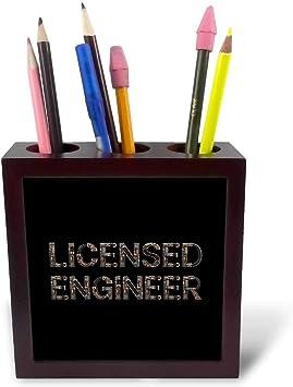 3dRose Licensed Engineer Pen Holders