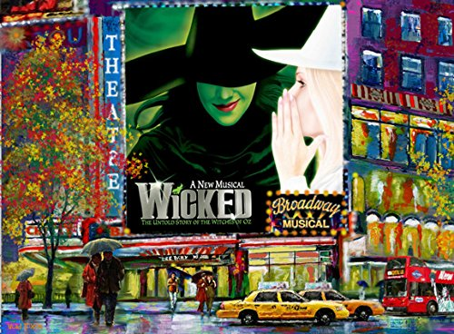 Wicked In Times Square Broadway New York - Art Painting On Canvas /giclee 16x20