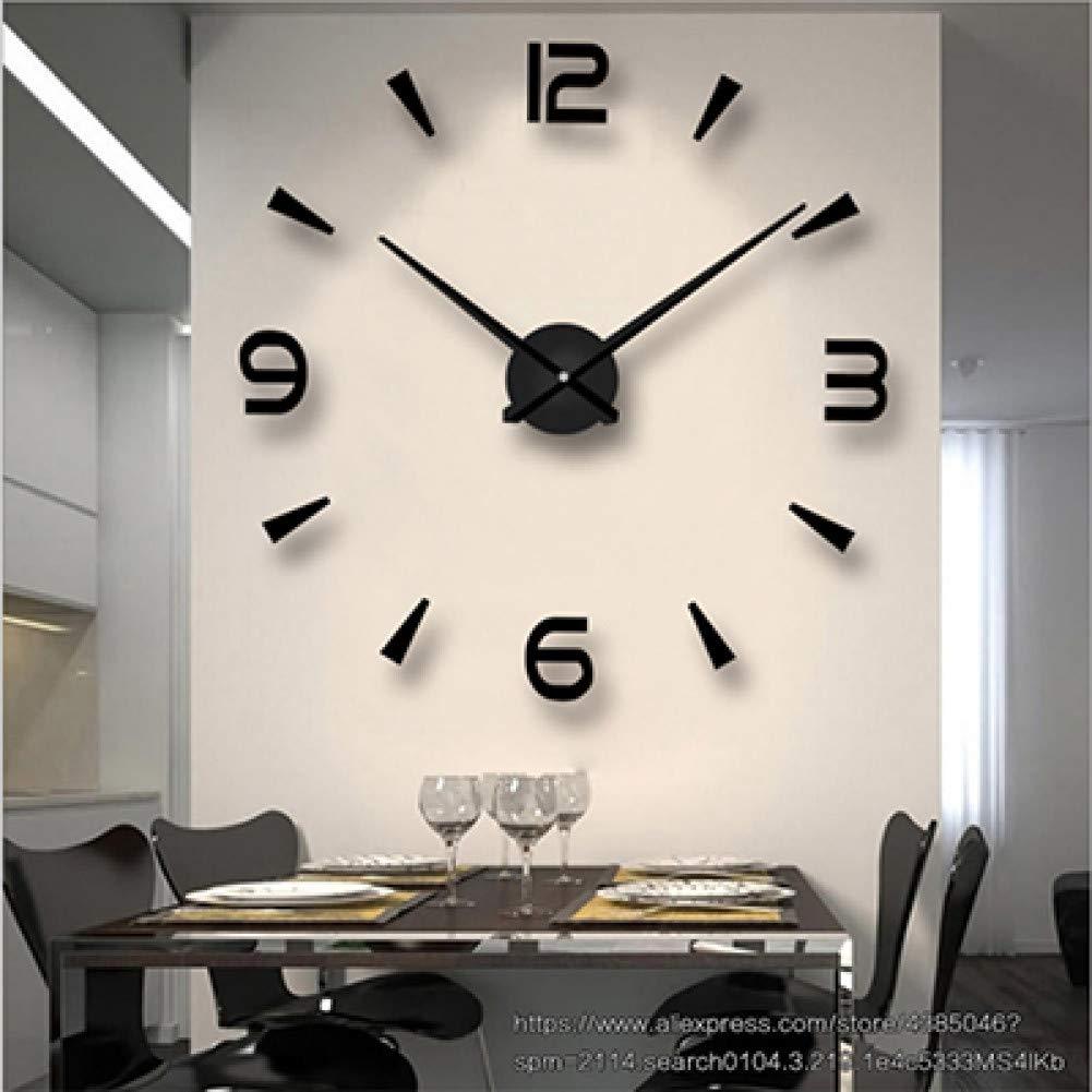 XSARUPIO Reloj de Pared de Moda Etiqueta de la Pared Decorativa ...