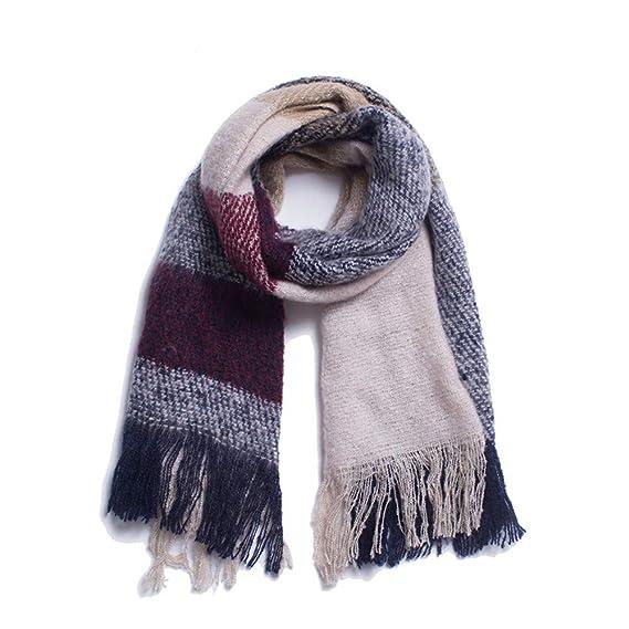 sélectionner pour le meilleur renommée mondiale le moins cher AFBLR Col écharpe châle Automne et hiver fil de laine grande ...