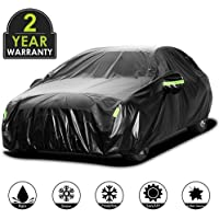 $40 » Adakiit Car Cover Waterproof Sedan Cover for All Weather UV Protection Windproof/Scratch…