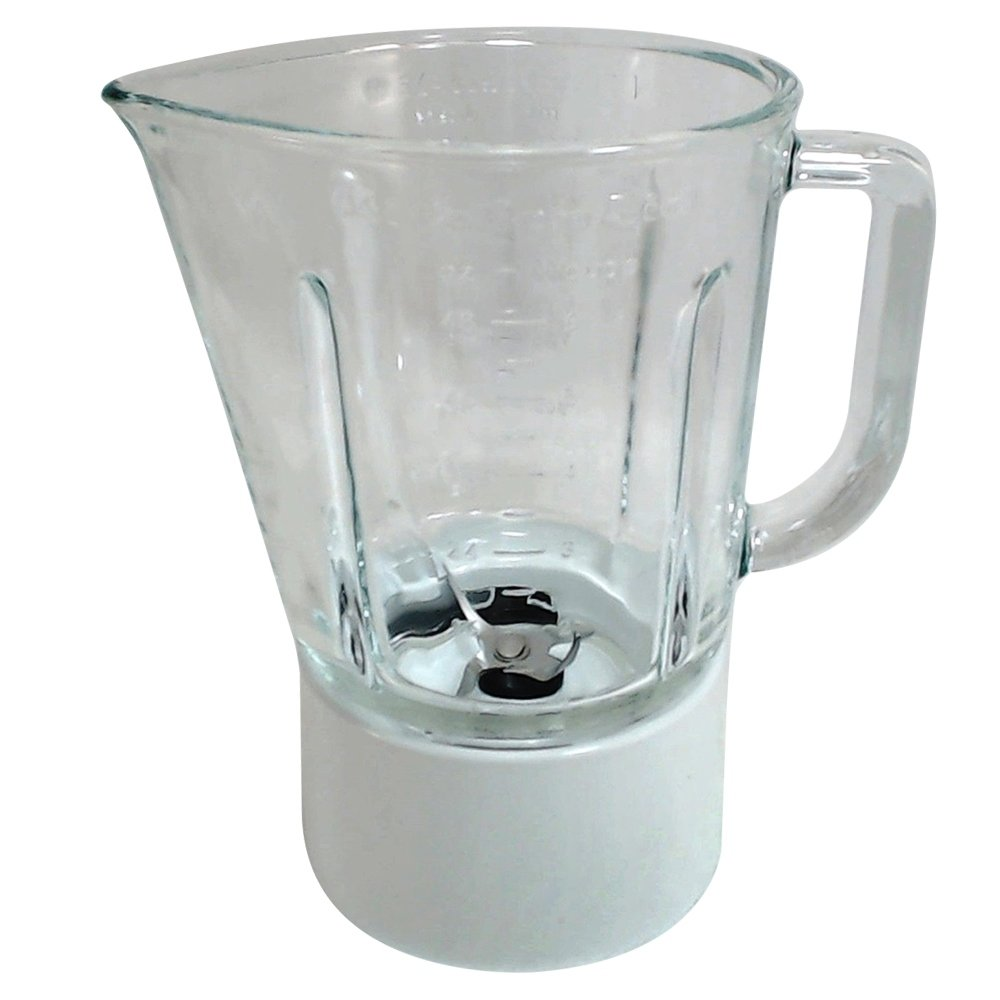 KitchenAid W10279528 Glass Blender Jar Assembly White