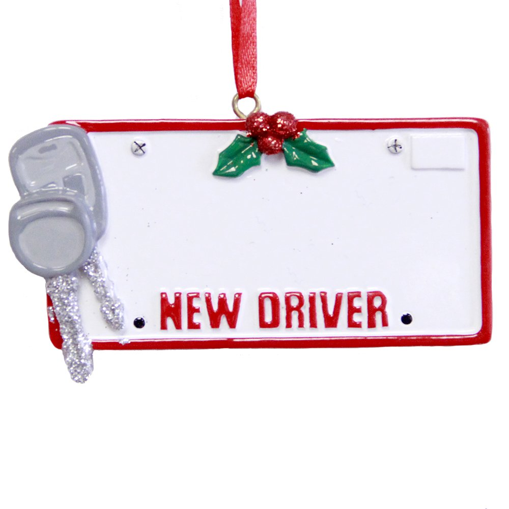 Amazon.com: Rudolph and Me Personalized New Driver License Christmas ...