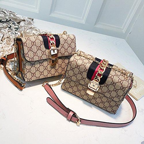 sauvage imprimé mode bandoulière soirée diagonale femmes Sac main sac Pink à la sac de à de petit des xw0Z1nq8fZ
