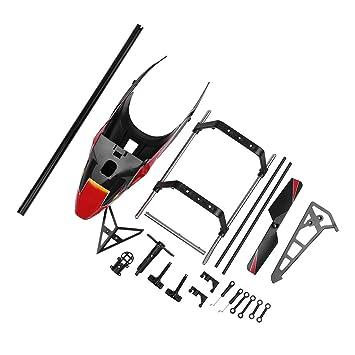 TwoCC-Drone, carcasa de protección del motor de la hélice trasera ...