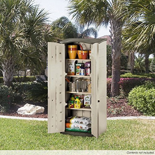 Review Rubbermaid Outdoor Vertical Storage
