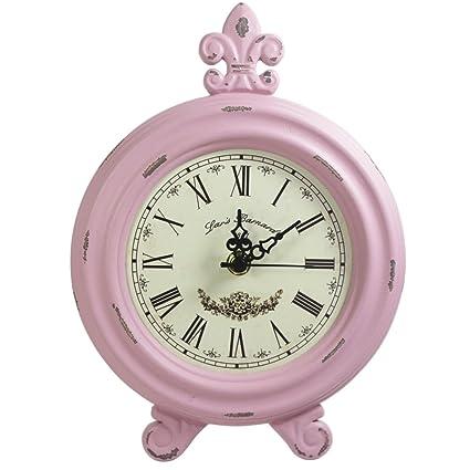 Superior KiaoTime Retro Vintage Table Clock,Decorative Table Clock,Silent No Ticking  Antique Table Desk