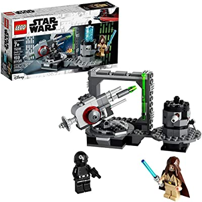 LEGO Star Wars: A New Hope Death Star Cannon 75246 Advanced Building Kit with Death Star Droid (159 Pieces) (Renewed): Toys & Games