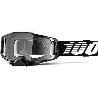 100% Armega Goggle-Black: Automotive