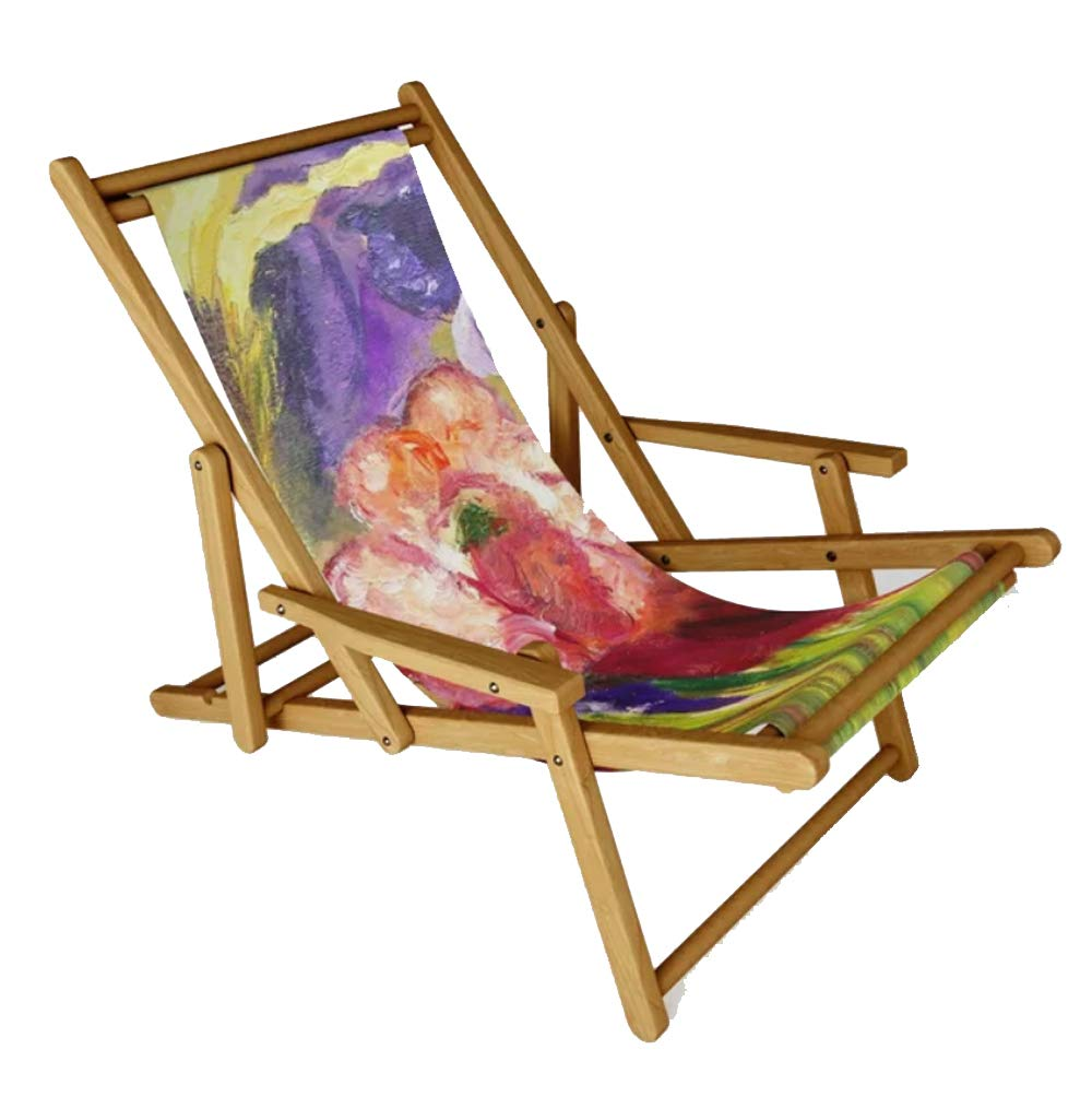 Ans Duin Collection - Unique Designed Sling Chair, Summer Feeling
