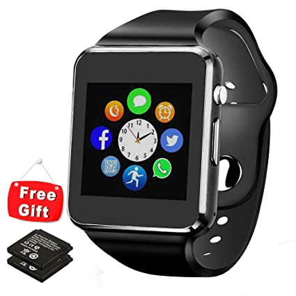 Bluetooth Smart Watch - ANCwear Smartwatch Phone for Android with Camera/SIM Card Slot, Sport Fitness Tracker Watch with Step Counter, Sleep Monitor ...