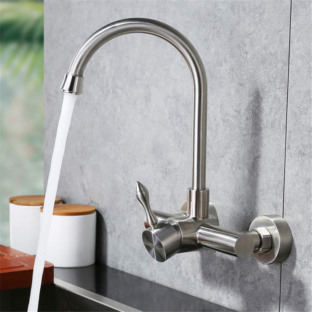 Decorry Warme Und Kalte Wasserhähne In Die Wand 304 Edelstahl-Küche gemäßebassinwannenhahn