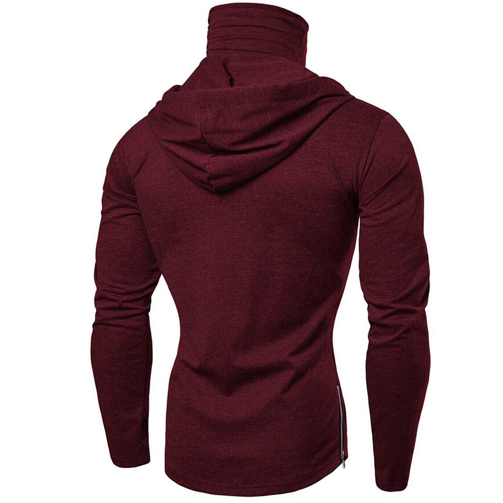 Men Pullover Hoodie Mask Skull Plain Color Long Sleeve Funny Sweatshirt  Tops Blouse at Amazon Men s Clothing store  c4a7233ff9b9