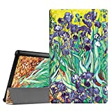 Fintie Fire HD 10 2015 SmartShell Case - Ultra Slim Lightweight Standing Cover with Auto Wake / Sleep for Amazon Fire HD 10 Tablet (10.1
