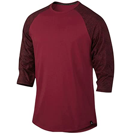 70489e8f720f Amazon.com  Nike Men s Jordan 23 True Elephant Print Raglan T-Shirt ...