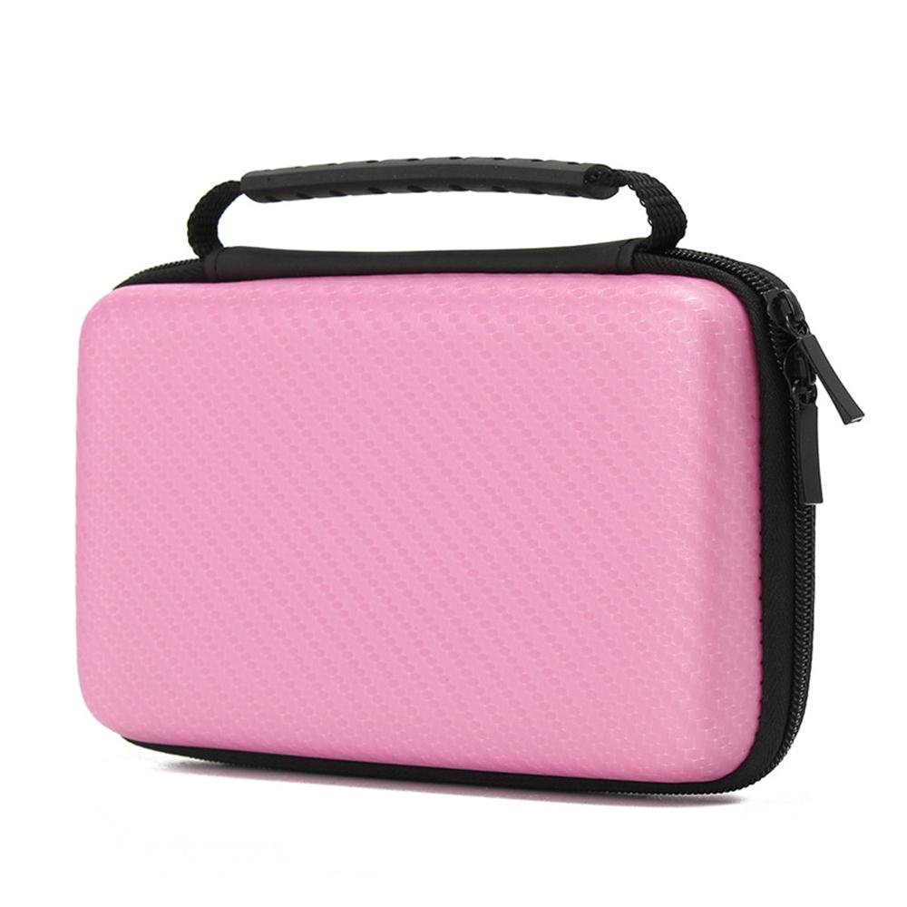 Nintendo 2DS XL Case,Hard Carrying Case Compatible With Nintendo 2DS XL/LL,New Nintendo 2DS XL/LL Console & Game Accessories (Pink)