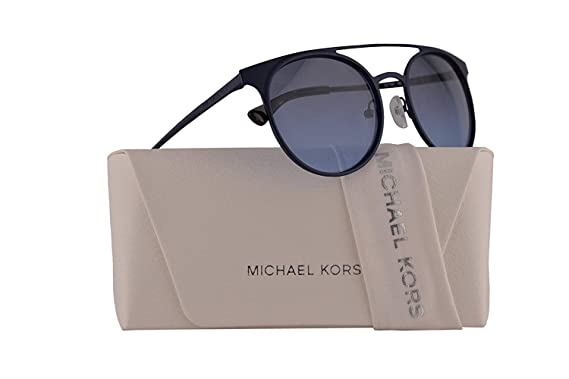 d6b00b15dc1fb Image Unavailable. Image not available for. Color  Michael Kors MK1030  Grayton Sunglasses Matte Navy ...