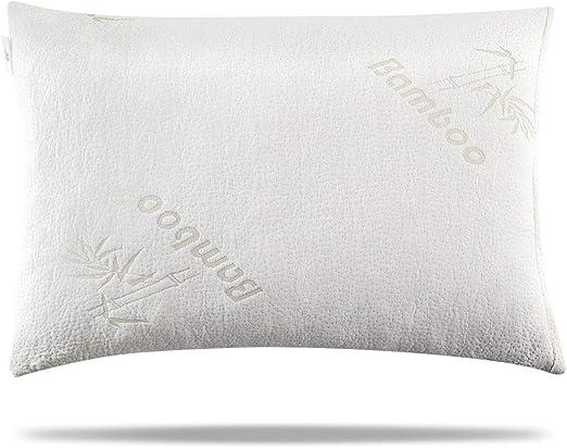 Amazon Com Memory Foam Pillow Bamboo Memory Foam Pillow