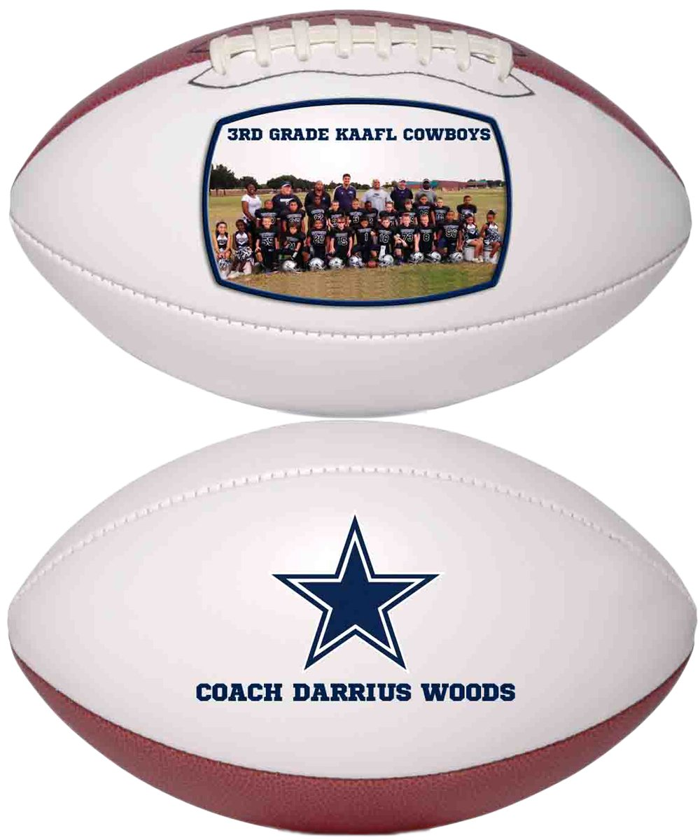 Personalized Custom Photo Regulation Football - Any Image - Any Text - Any Logo by Personalized Sports Balls (Image #7)