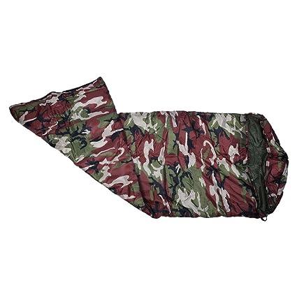SODIAL (R) 3 temporada solo adultos impermeable senderismo traje caso saco de dormir bolsa