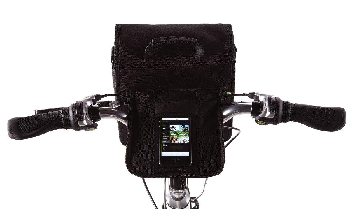Cannondale Quick City Tech QR–Bolsa para Manillar de Bicicletas, pequeño, Negro pequeño Cycling Sports Group - Cannondale Accessories 3HB100SM/BLK