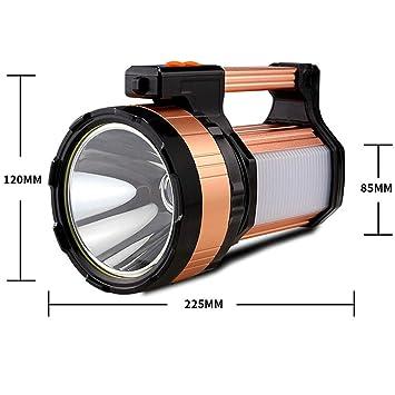 Proyector LED Súper Brillante Portátil Proyector USB Recargable ...