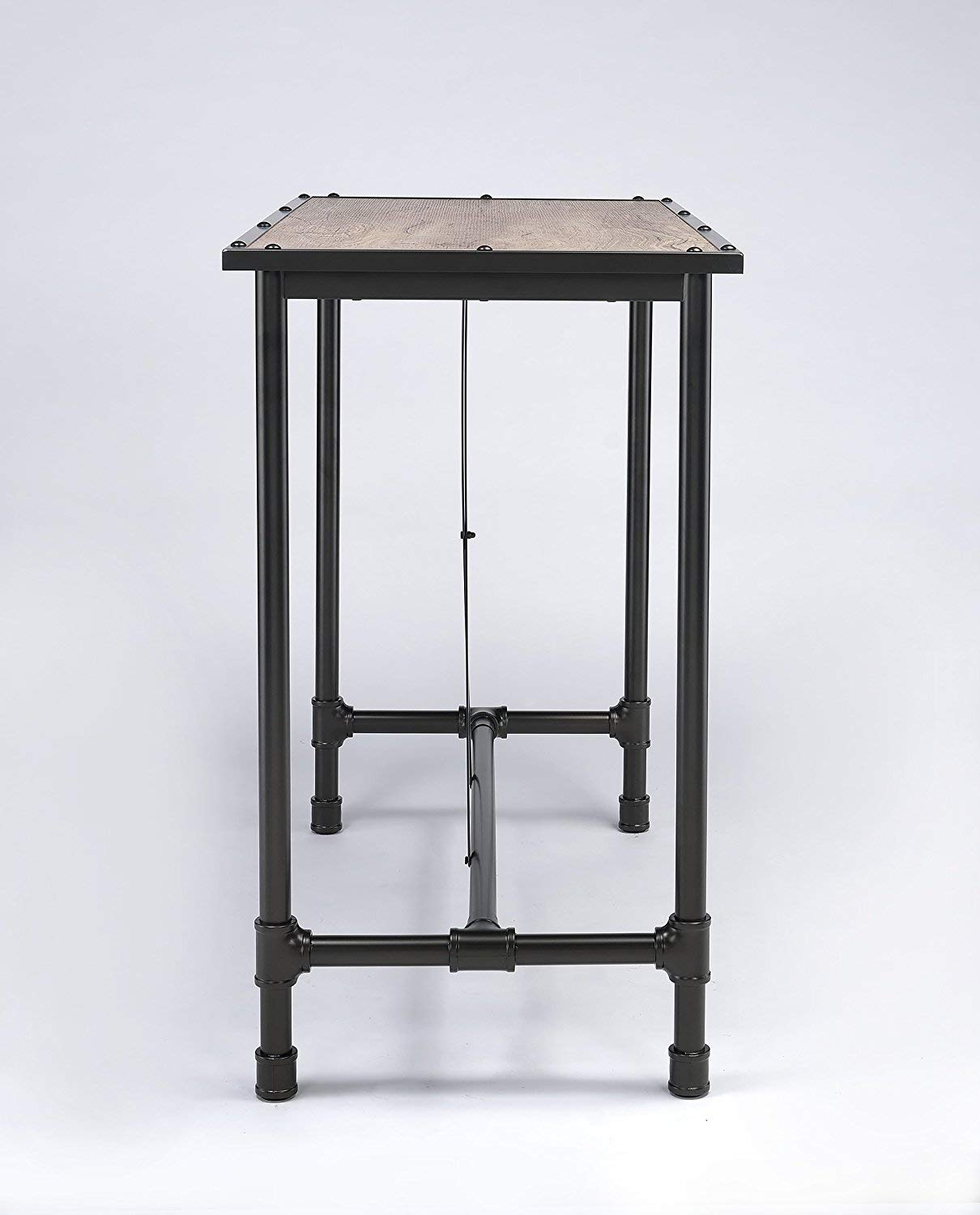 Major-Q Industrial Style Dining Bar Table