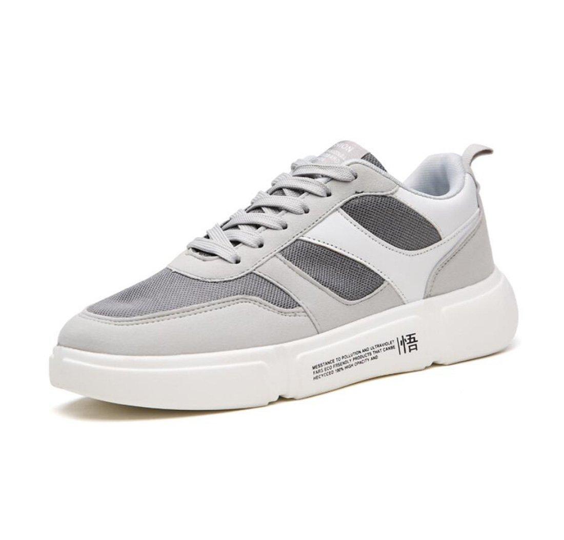 DANDANJIE Zapatos Corrientes para Hombres, Zapatillas Primavera de Deporte Primavera Zapatillas y Verano Zapatos Deportivos Transpirables de Malla Retro Zapatos de Viaje y Ocio (Color : Gris, Tamaño : 39 EU) 0e9c54