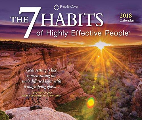 Abu Habits Icard: 7 Habits Of Highly Effective People, The 2018 Desktop Box