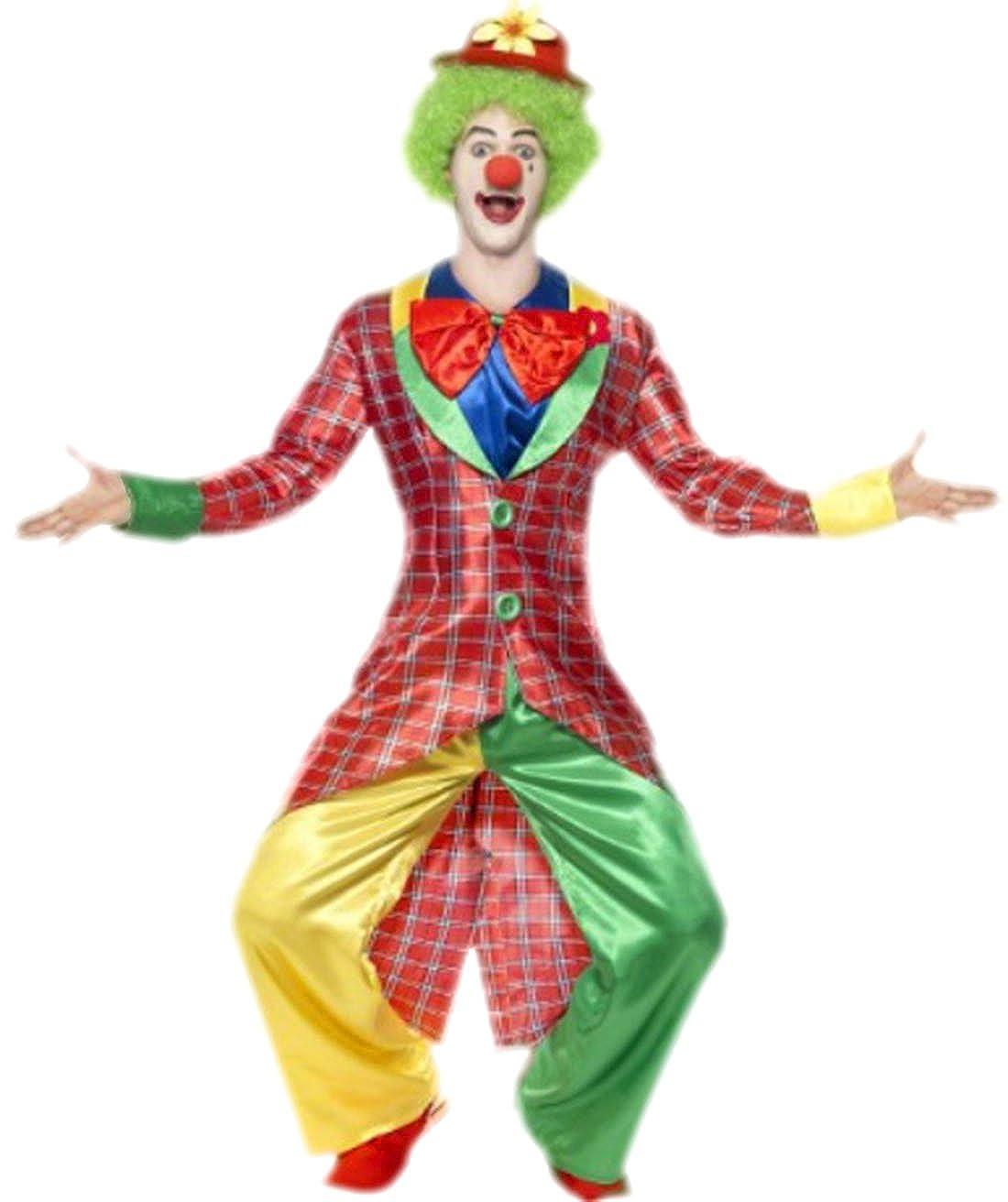 erdbeerloft – Hombre Carnaval Completo Disfraz Circo payaso, M de ...