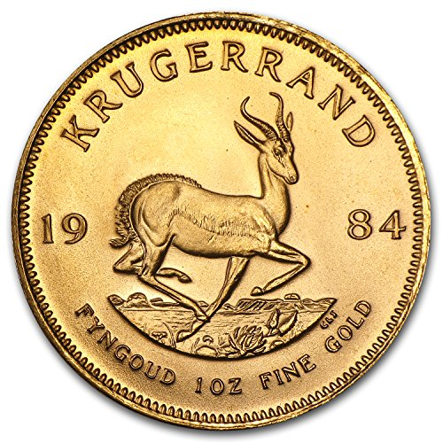 1984 ZA South Africa 1 oz Gold Krugerrand BU 1 OZ Brilliant Uncirculated ()