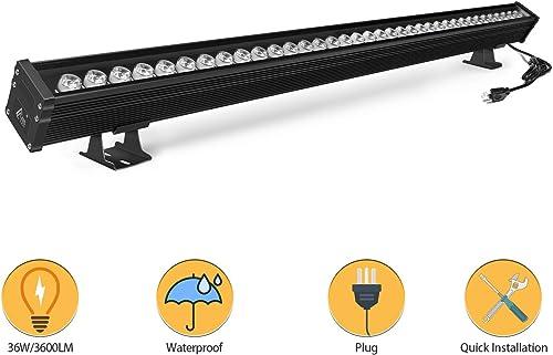 RSN LED Wall Washer Light 36W 5000K Linear Light Waterproof IP65 Linear Bar Light for Wall, Bridge and Billboard Lighting 5000K