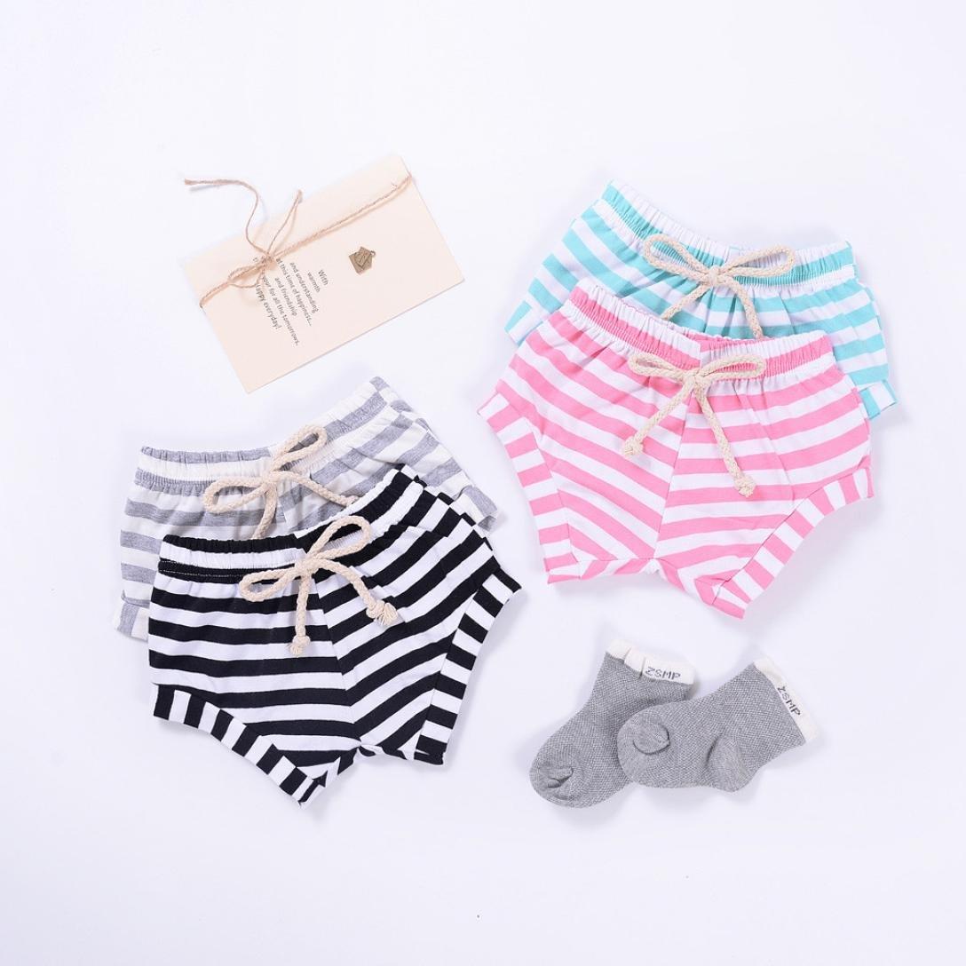 Covermason Niños Ropa Venta de liquidación Newborn Infant Baby Girls Boys Shorts a rayas Summer Bottoms Bloomers(12M, gris): Amazon.es: Productos para ...
