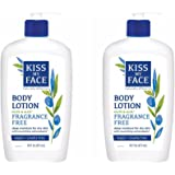 Kiss My Face Olive & Aloe Fragrance Free Body Lotion