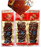 Domilove® Chinese Special Spicy Snack Food: Gluten Wei Long La Tiao Ba Xi Kao Rou Pack of 10 (巴西烤肉 28g X 10 Pack)