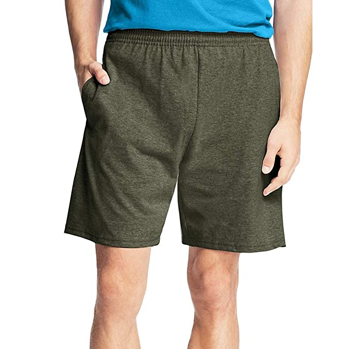 ec3d625c409c2e Hanes Men's Jersey Cotton Shorts at Amazon Men's Clothing store: