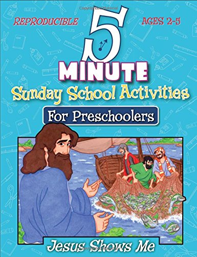 5 Minute Sunday School Activities for Preschool -- Jesus Shows Me