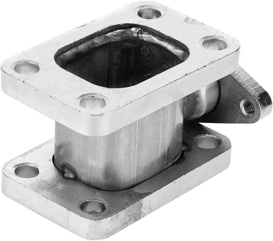 Adaptateur de collecteur turbo sortie de bride Wastegate de 38 mm T3-T3 Adaptateur de collecteur turbo en acier inoxydable projet Turbo Swap