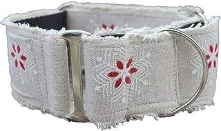product image for Diva-Dog Martingale Dog Collar - Vintage Noel (X-Large)