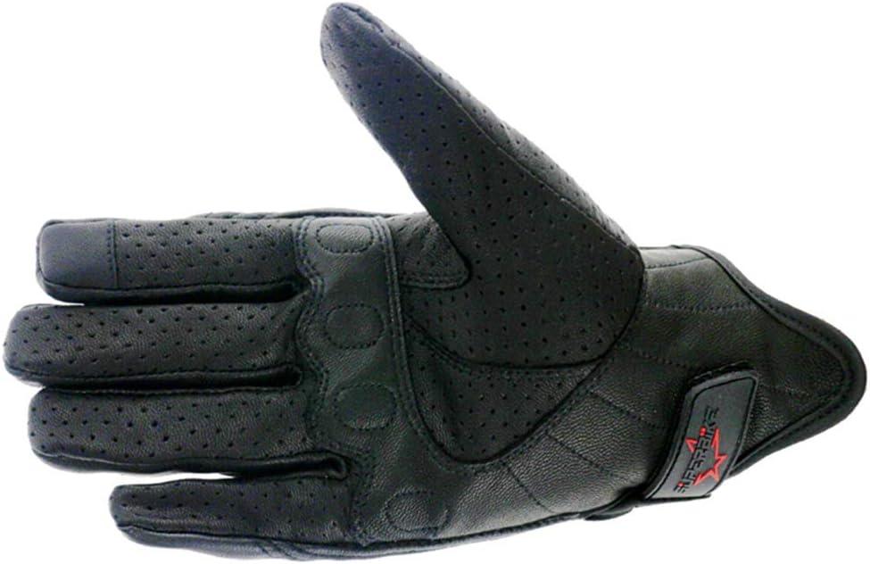 Herren Motorrad Motorrad Handschuhe Leder Touchscreen Thermo Radfahren Motocross Handschuh XXL