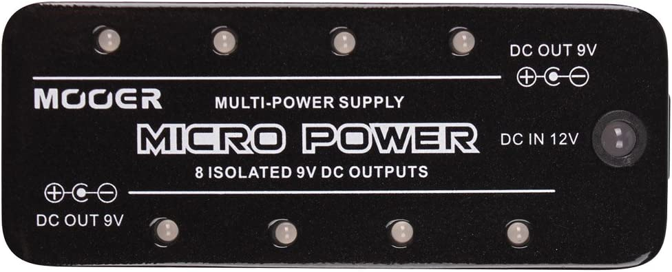 Top 10 Best Guitar Pedal Power Supply Reviews in 2020 6