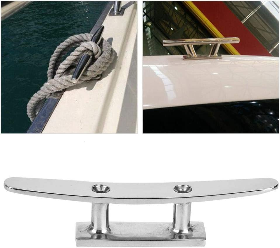 for Boat Docks Decorative Applications Marine Boat Part Not Hurt Rope Boat Base Cleat Fluent Surface Marine Cleat