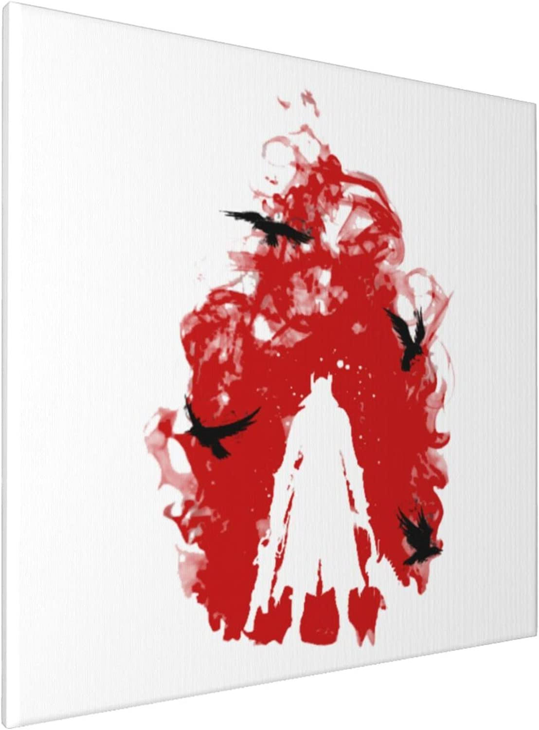 Canvas Prints Wall Art Paintings(20x20in) Bloodborne Born Blood Pictures Home Office Decor Framed Posters & Prints