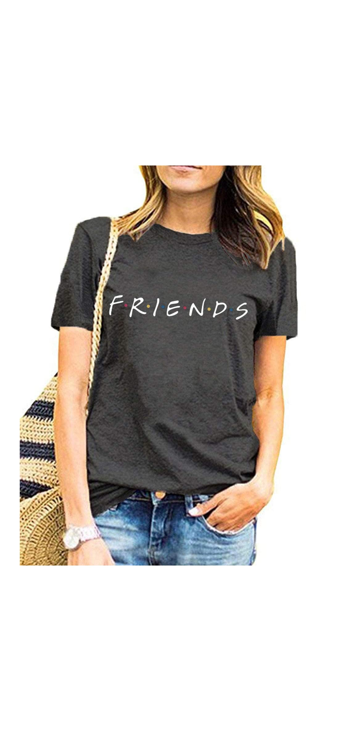 Womens Funny Cute Graphic Summer Casual T Shirt Tops