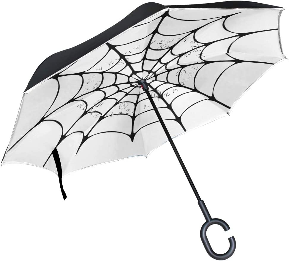 Skull Automatic Folding Umbrella Sunshade Tri-fold Rain Umbrella